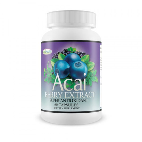 Everyday Health Acai Berry Extract Antioxidant 60 Capsules
