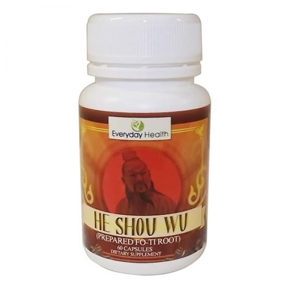 Everyday Health He Shou Wu 60 Capsules