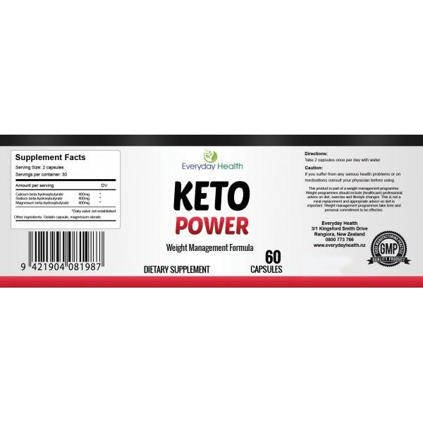 Everyday Health Keto Power Weight Management 60 Capsules