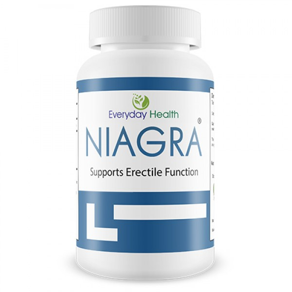 Everyday Health Niagra Erectile Health 60 Capsules