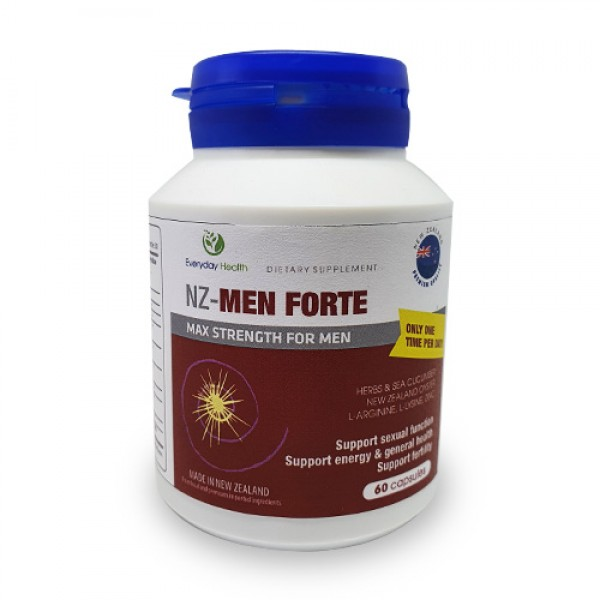 Everyday Health NZ-Men Forte 60 Capsules
