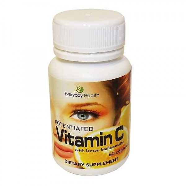 Everyday Health Vitamin C Antioxidant 60 Capsules