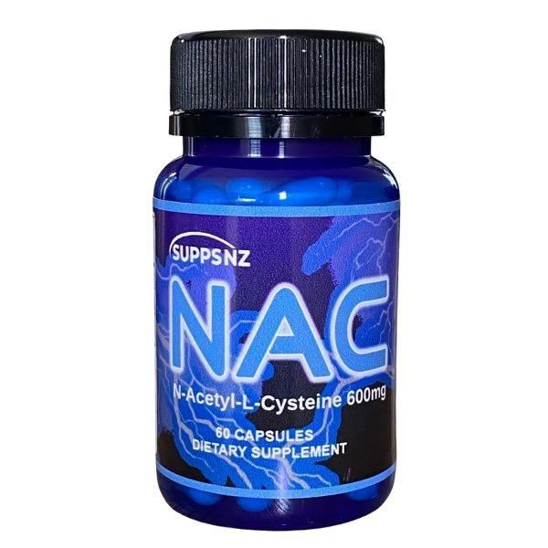 NAC N-Acetyl L-Cysteine 600mg 60 Capsules