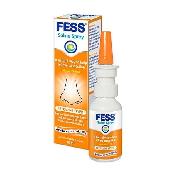 Fess Frequent Flyer Saline Nasal Spray 30ml