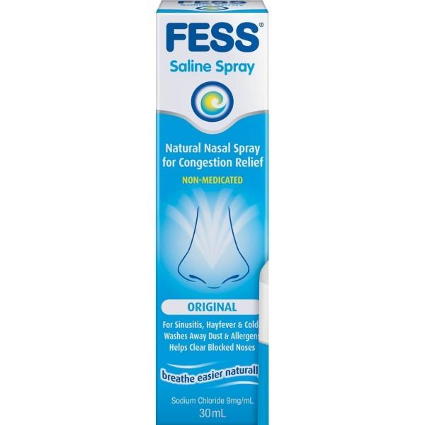 Fess Original Saline Nasal Spray 30ml