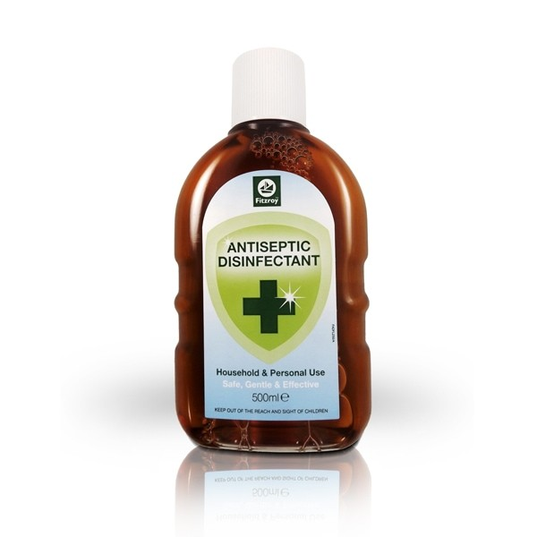 Fitzroy Antiseptic Disinfectant Liquid 500ml