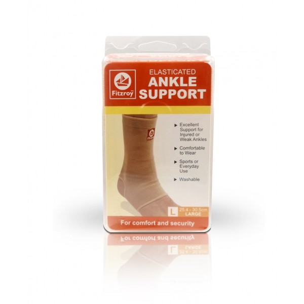 Fitzroy Elasticated Ankle Support - Large Size