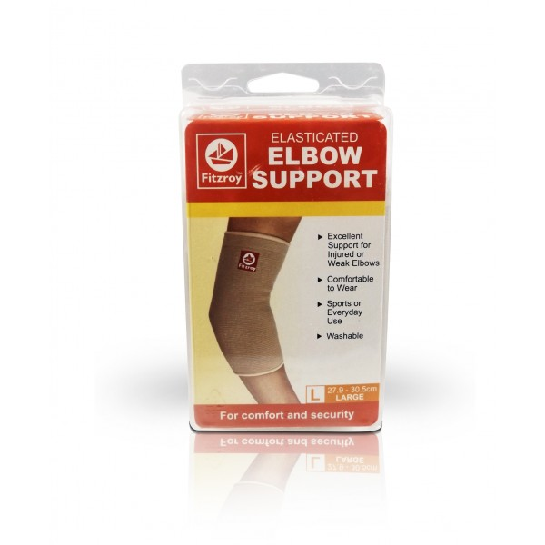 Fitzroy Elasticated Elbow Support - Large Size