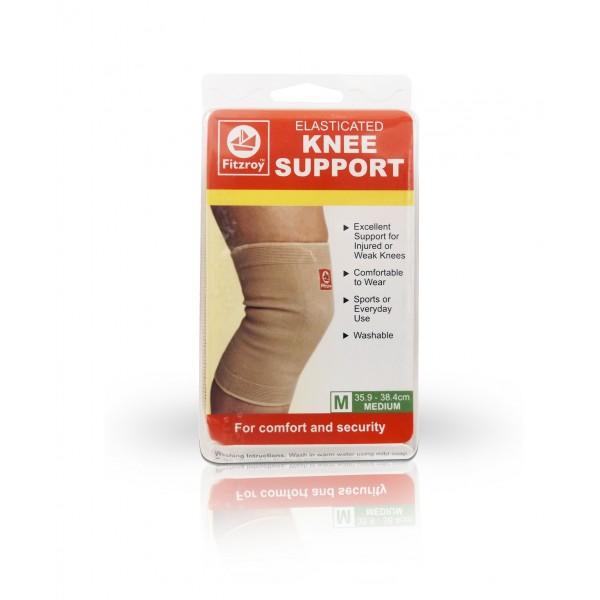 Fitzroy Elasticated Knee Support - Medium Size