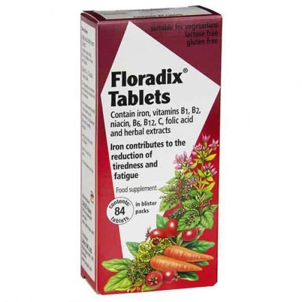 Floradix 84 Tablets