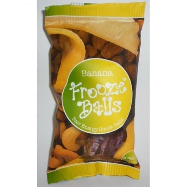 Frooze Balls Snack Bar 70g Banana Flavour