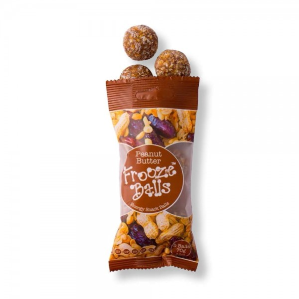 Frooze Balls Snack Bar 70g Peanut Butter Flavour