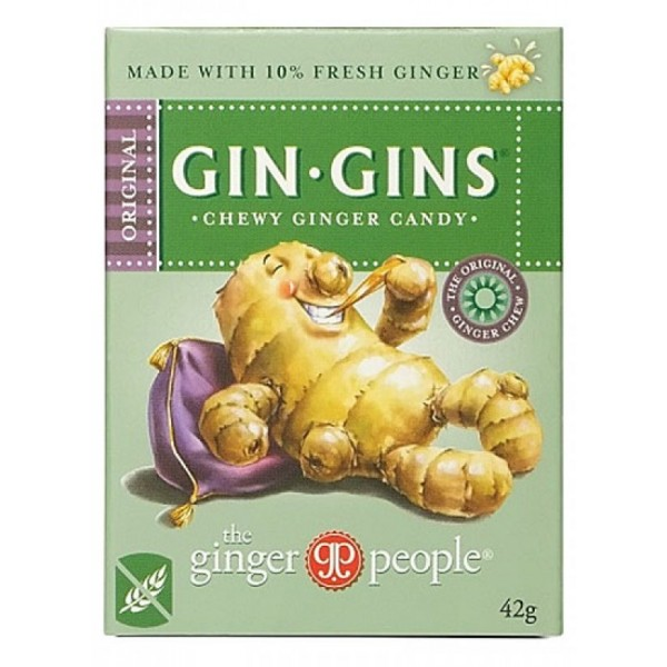 Gin Gins Chewy Ginger Candy Travel Pack
