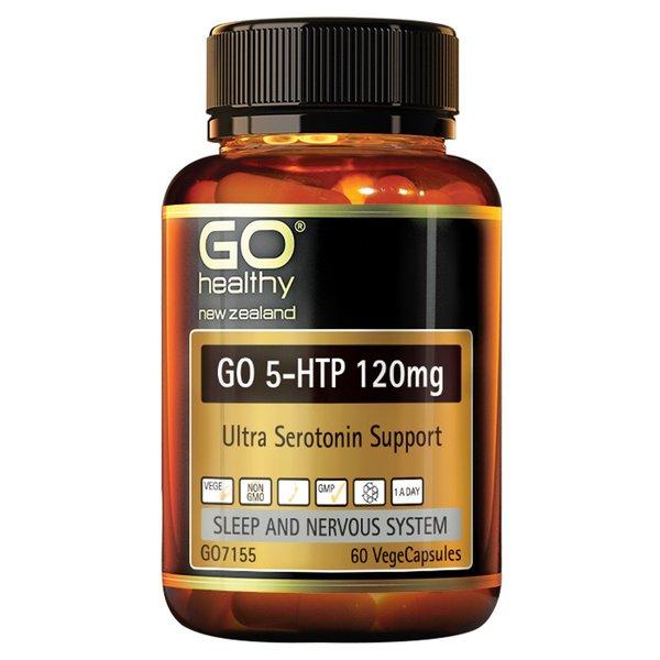 GO Healthy GO 5HTP 120mg 60 Capsules