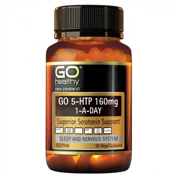 GO Healthy GO 5HTP 160mg 30 Capsules