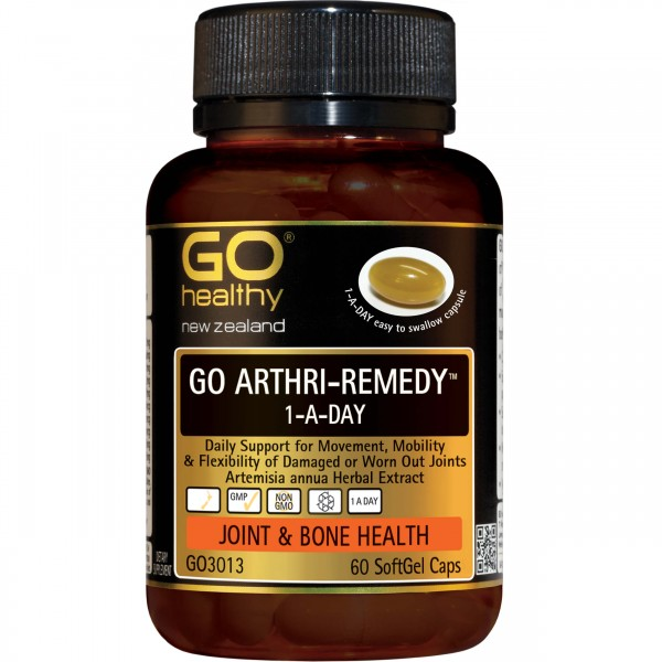 GO Healthy GO Arthri-Remedy 1-A-Day 60 Capsules