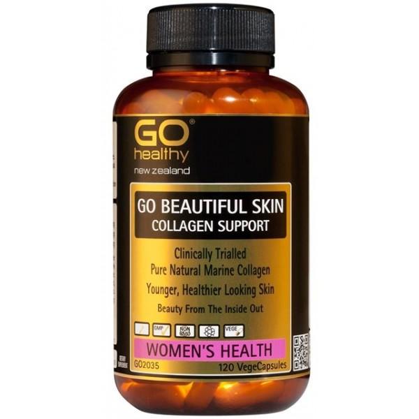 GO Healthy GO Beautiful Skin Collagen 120 Capsules