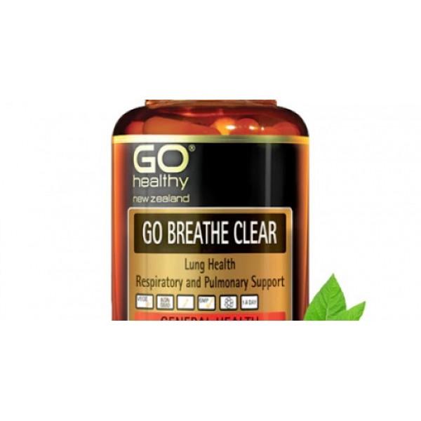 GO Healthy GO Breathe Clear 60 Capsules