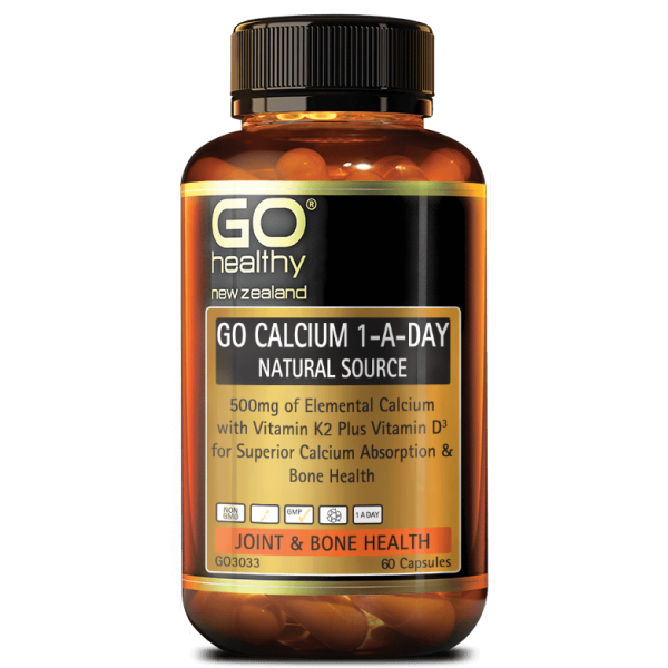 GO Healthy GO Calcium 1-A-Day 60 Capsules
