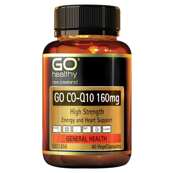 GO Healthy GO CoQ10 160mg 60 Capsules