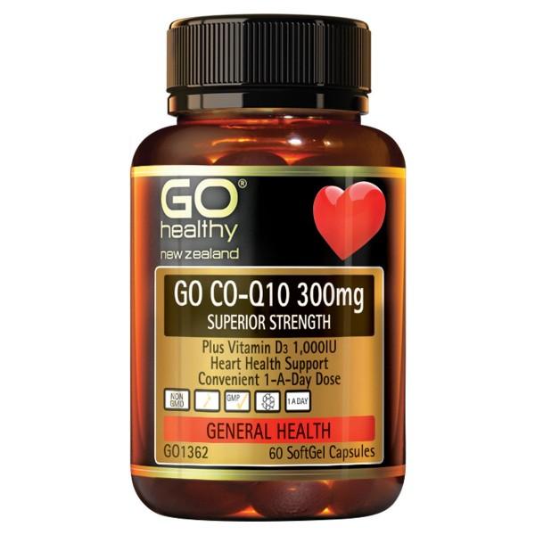 GO Healthy GO CoQ10 300mg 60 Capsules