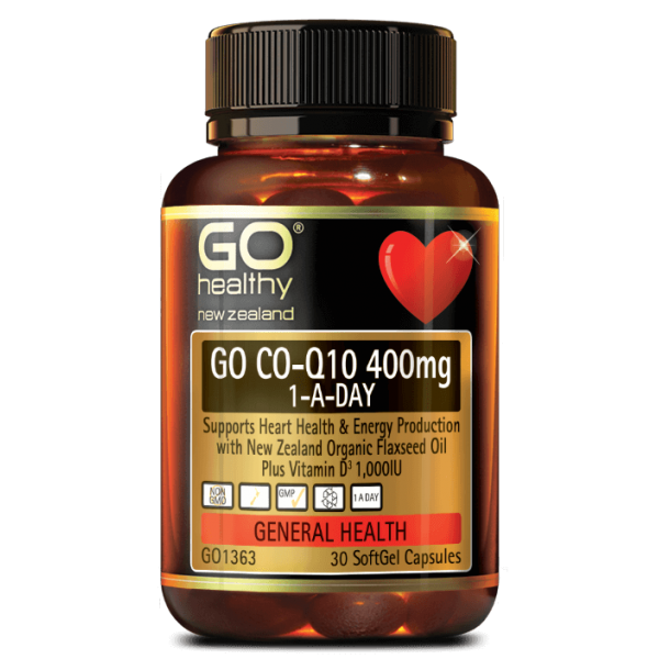 GO Healthy GO CoQ10 400mg 30 Capsules