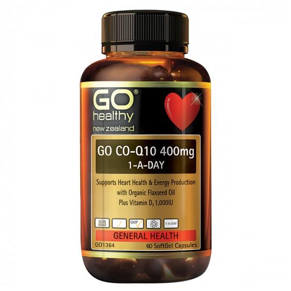 GO Healthy GO CoQ10 400mg 60 Capsules