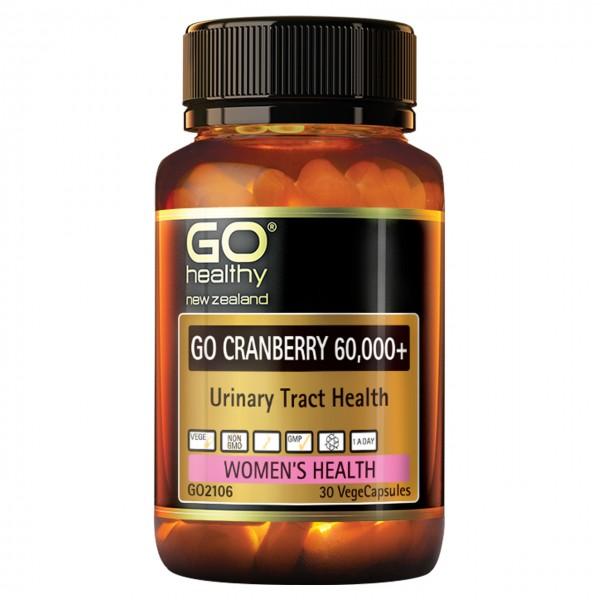 GO Healthy GO Cranberry 60,000+ 30 Capsules