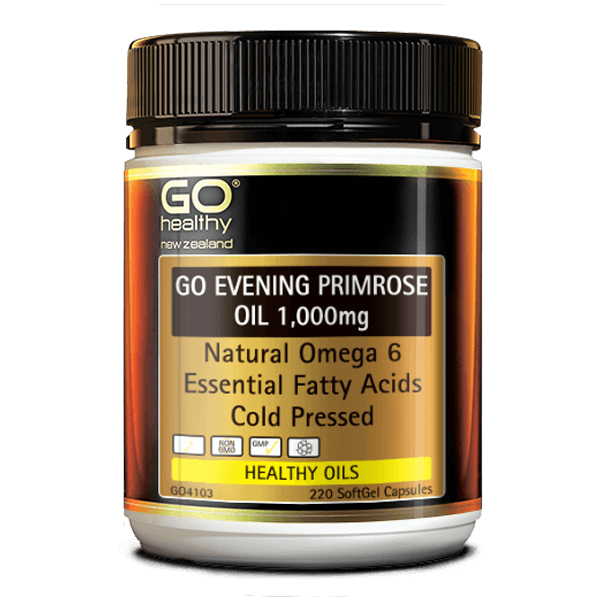 GO Healthy GO Evening Primrose Oil 1000mg 220 Capsules