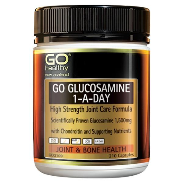GO Healthy GO Glucosamine 1-A-Day 210 Capsules