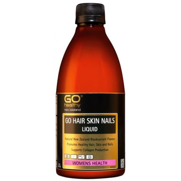 GO Healthy GO Hair Skin Nails Liquid 500ml