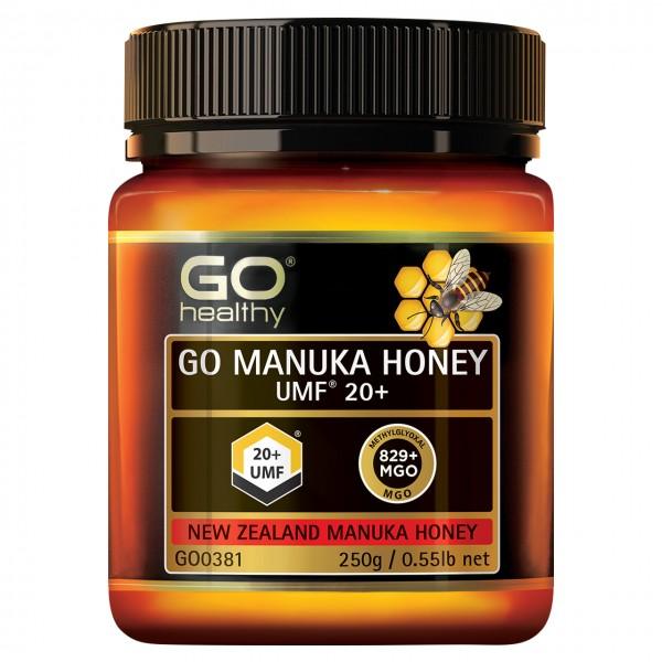 GO Healthy GO Manuka Honey UMF 20+ 250g
