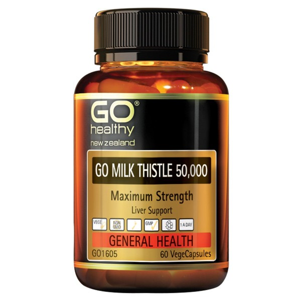 GO Healthy GO Milk Thistle 60 Capsules