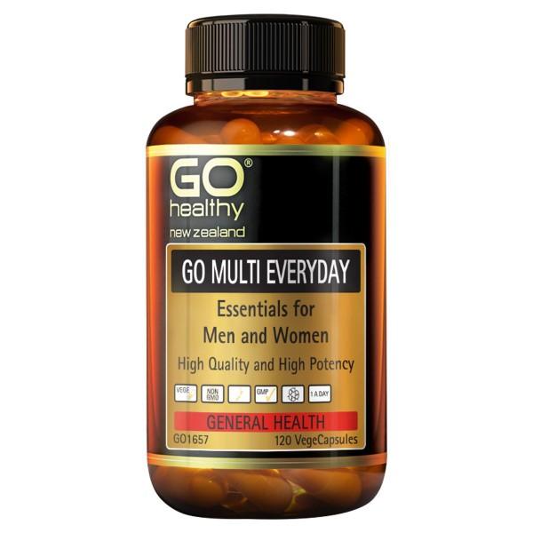 GO Healthy GO Multi Everyday 120 Capsules