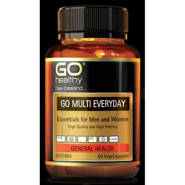 GO Healthy GO Multi Everyday 60 Capsules