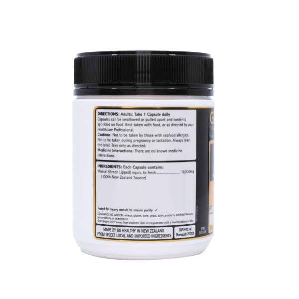 GO Healthy GO Mussel 19000mg Capsules