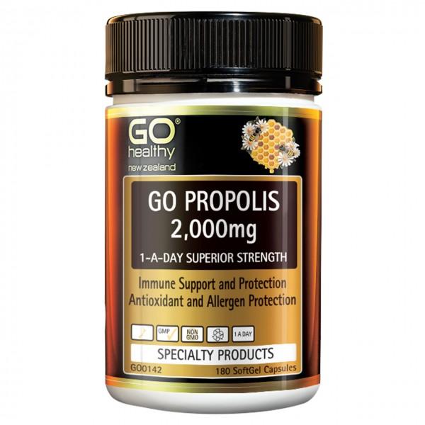 GO Healthy GO Propolis 2000mg 180 Capsules