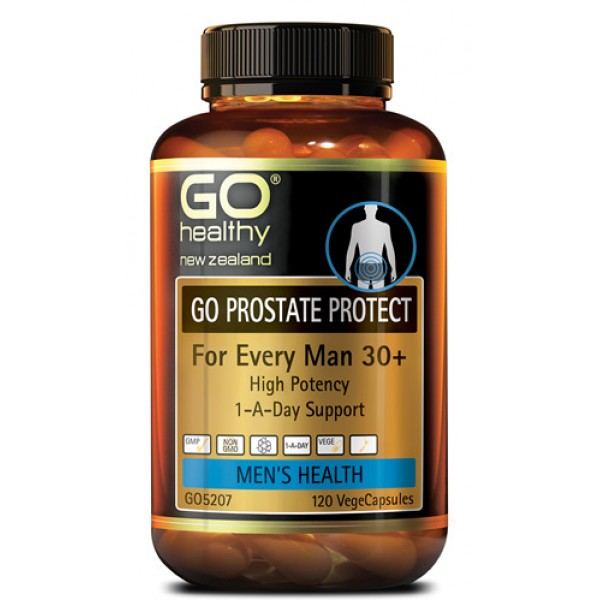 GO Healthy GO Prostate Protect 120 Capsules