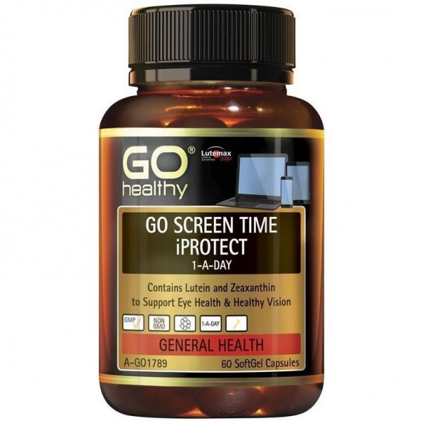 GO Healthy GO Screen Time iProtect 60 Capsules