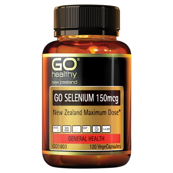 GO Healthy GO Selenium 120 Capsules