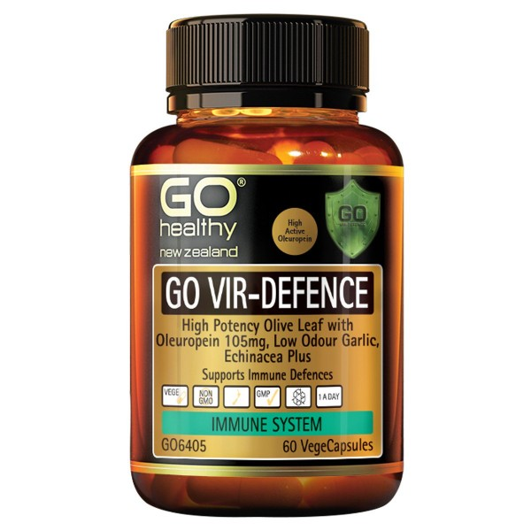 GO Healthy GO Vir-Defence 60 Capsules