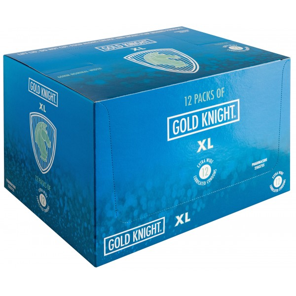 Gold Knight Condoms Extra Large 60mm Width