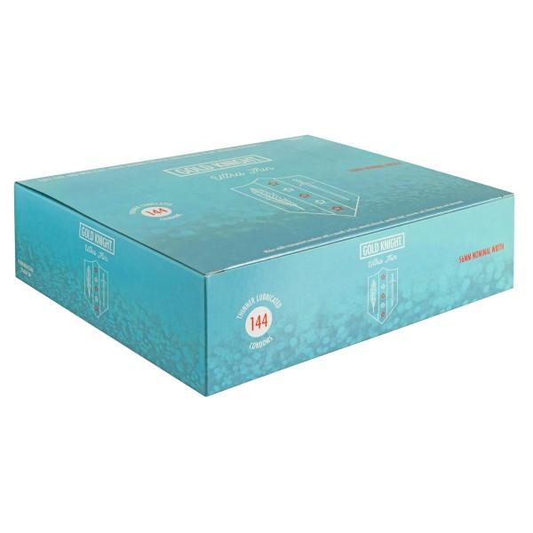 Gold Knight Condoms Ultra Thin 56mm Width Box of 144 Pk