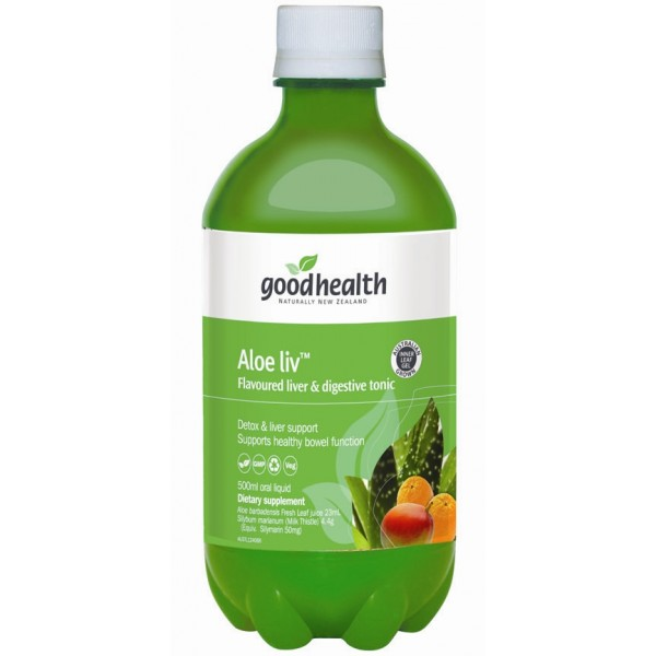 Good Health Aloe Liv 500ml