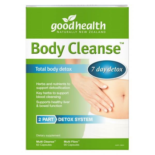 Good Health Body Cleanse Detox Kit