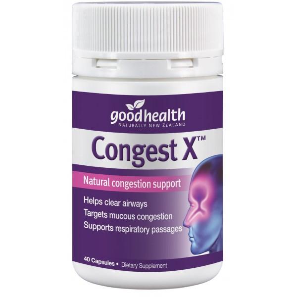 Good Health Congest X 40 Capsules