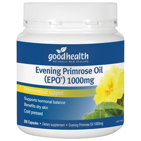 Good Health Evening Primrose Oil (EPO) 300 Capsules