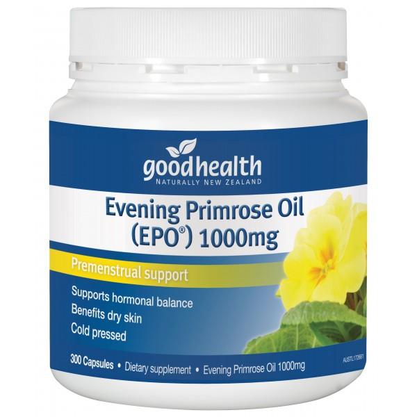 Good Health Evening Primrose Oil (EPO) 300 Capsules