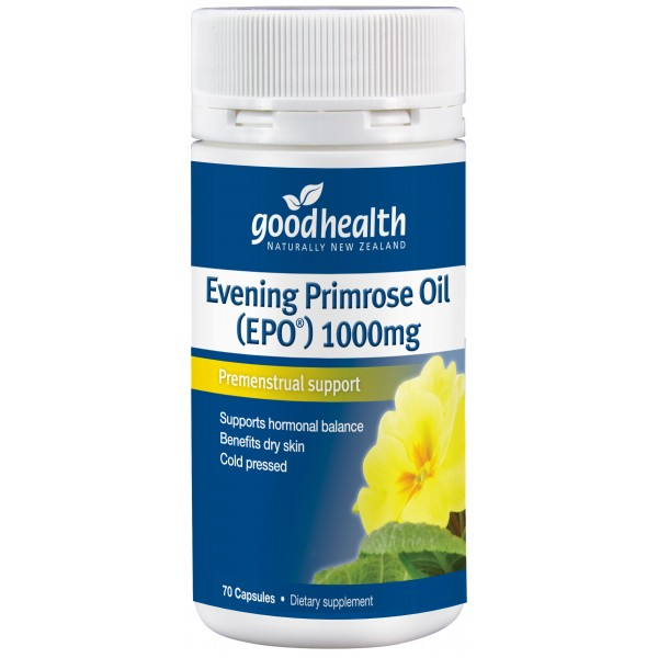 Good Health Evening Primrose Oil (EPO) 70 Capsules
