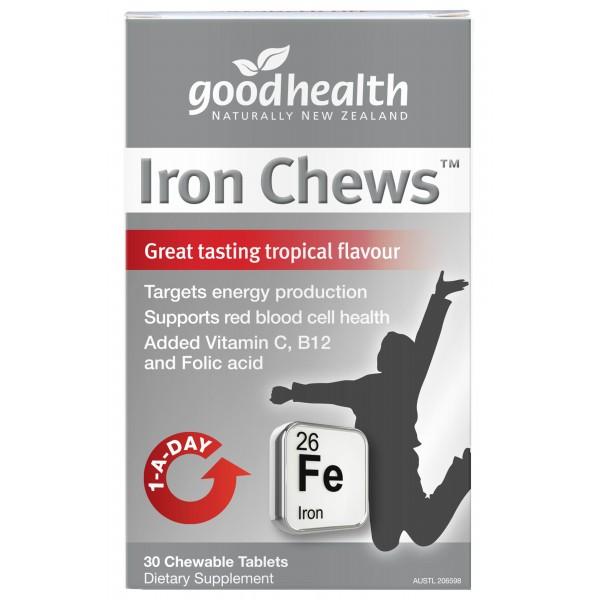 Good Health Iron Chews 30 Tablets